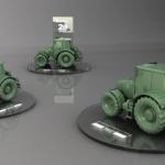 podstavec pod traktor pre firmu Ematech